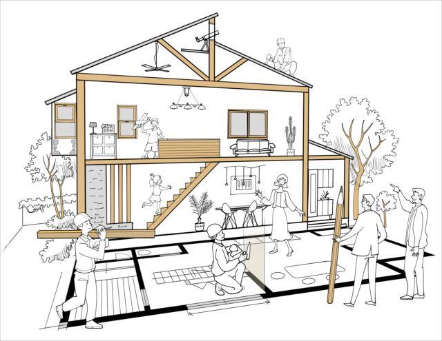 注文住宅を建築するときの業者の選び方を考えよう